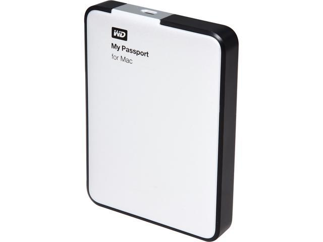 WD My Passport for Mac 750GB USB 2.0 External Hard DriveWDBBXV7500ABK Black