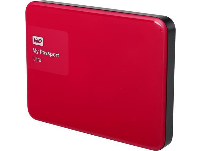 WD My Passport Ultra 500GB USB 3.0 Secure Portable External Hard Drive WDBWWM5000ABY-NESN