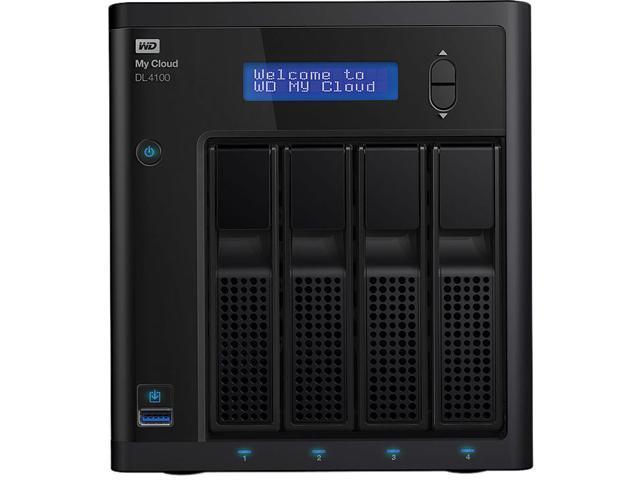 WD WDBNEZ0160KBK-NESN 16TB 4-Bay NAS