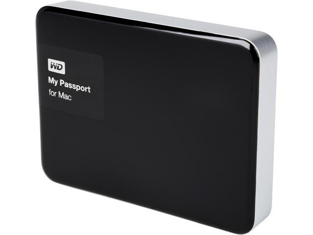 WD My Passport for Mac 3TB USB 3.0 Premium Storage Model WDBCGL0030BSL-NESN