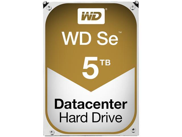 "WD Se WD5001F9YZ 5TB 7200 RPM 128MB Cache SATA 6.0Gb/s 3.5"" Datacenter Capacity HDD"