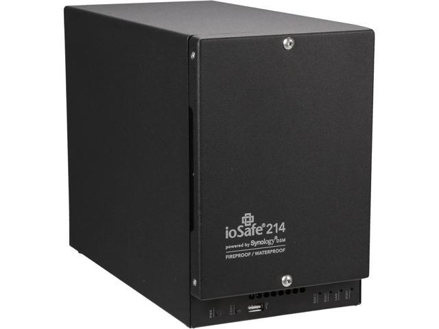 ioSafe 214-DISKLESS powered by Synology DSM Network Storage - Retail