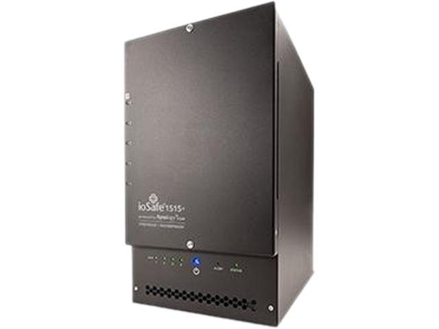 ioSafe ND205-1 Diskless System Nas 1513+ 10TB 2TBx5 WD Red Fire & Waterproof 1Yr Basic