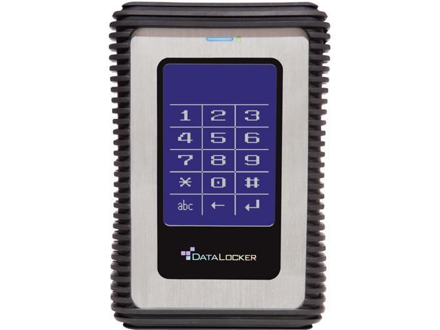 DataLocker DL3 DL500V3 500 GB Encrypted External Hard Drive - 1 Pack - Box
