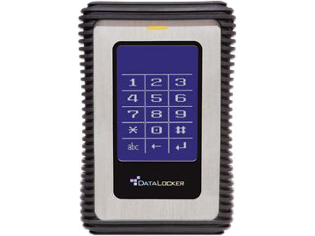 DataLocker DL3 2TB USB 3.0 AES Encrypted Portable External Hard Drive DL1500V3