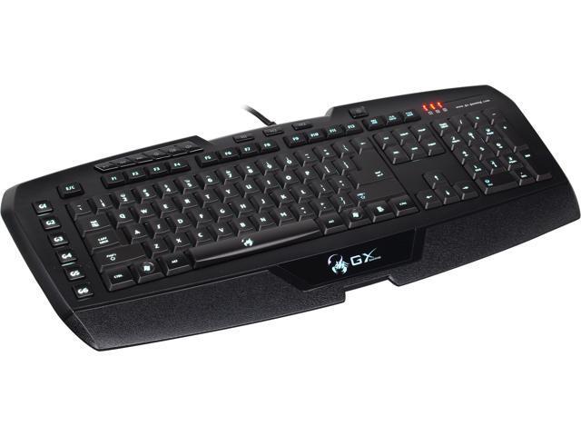 Genius GX-Gaming Imperator Pro Black USB Wired Gaming MMO/RTS Keyboard (31310053101)