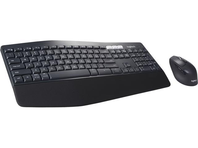 Logitech MK850 9-008219 Black USB Bluetooth Wireless Ergonomic Keyboards 1