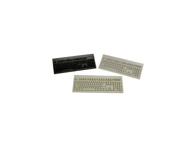 KeyTronic KT800P210PK Black 104 Normal Keys PS/2 Standard Keyboard