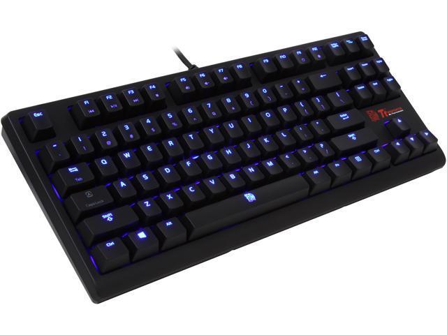 Tt eSPORTS Poseidon ZX Illuminated Mechanical Gaming Keyboard - Blue Switches