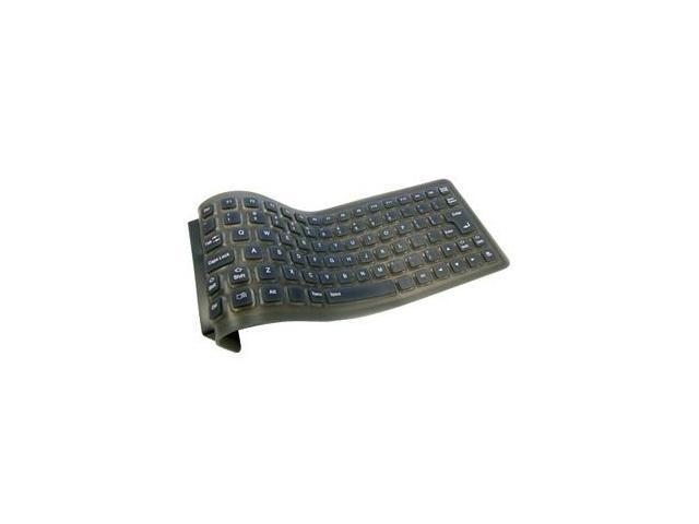 ADESSO AKB-210 Black 88 Normal Keys USB or PS/2 Foldable Mini Keyboard