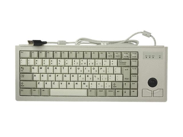 CHERRY G84-4420LUBEU-0 Light Gray 83 Normal Keys USB or PS/2 Wired Slim 15