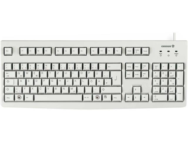 Cherry G83-6104LUNEU-0 G83-6104 Series Business Keyboard