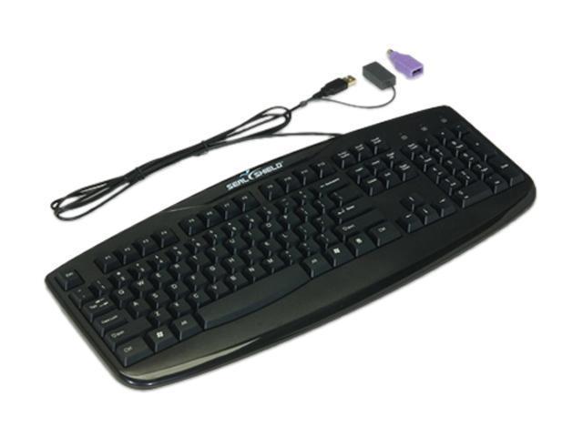 seal shield silver storm medical grade keyboard stk503 black usb wired keyboard. Black Bedroom Furniture Sets. Home Design Ideas