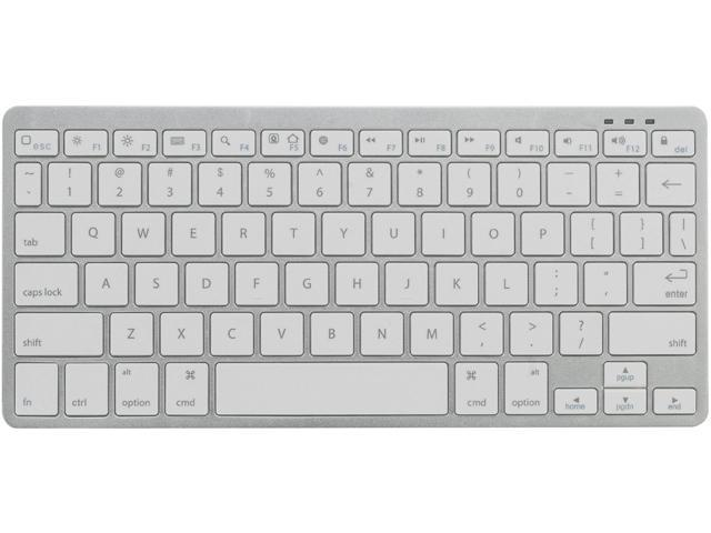 Chester Creek TrekKeys TRY White 13 Function Keys Bluetooth Wireless Slim Keyboard