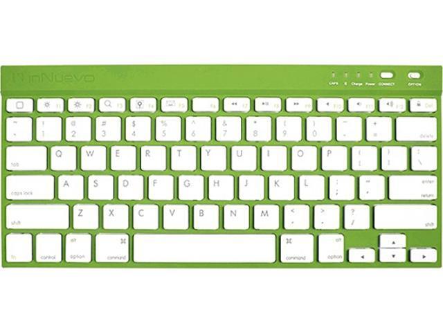 InNuevo 3128KEG Emerald Green Bluetooth Wireless Mini Keyboard