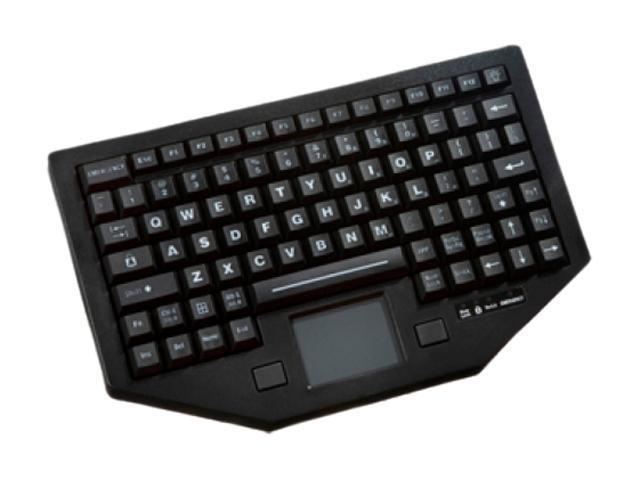 Panasonic Ikey Nema 4X (IP67) FT-88-911-TP-USB-P Black 88 Normal Keys 12 Function Keys USB Wired Keyboard and Keypads