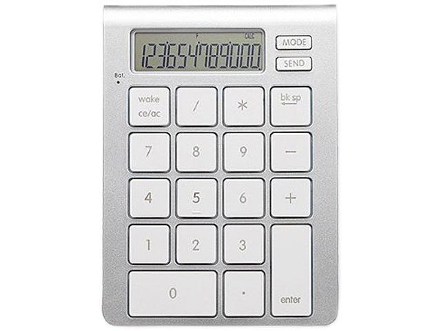 SMK-LINK iCalc Bluetooth Calculator Keypad VP6274 Bluetooth Wireless Keyboard