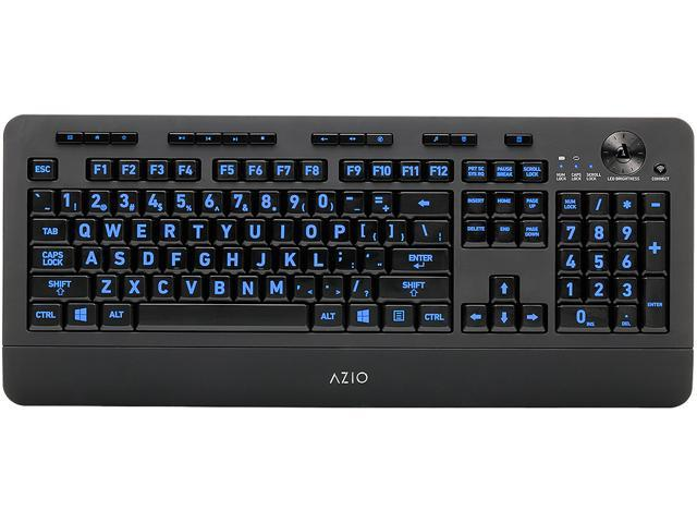 AZIO KB506W Wireless Backlit Keyboard