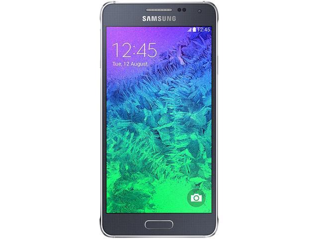 Samsung Galaxy Alpha SM-G850F 4G LTE Black 32GB FACTORY UNLOCKED 12MP, 4.7