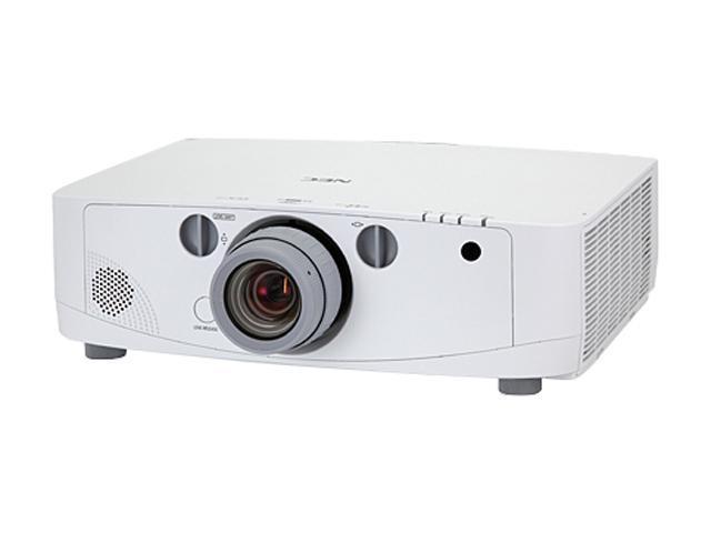NEC Display NP-PA500U 1920x1080 FHD 5000 ANSI Lumens, RJ-45 (Crestron LAN Control/Display), HDMI / DisplayPort / Dual VGA Inputs, 3 Year ...