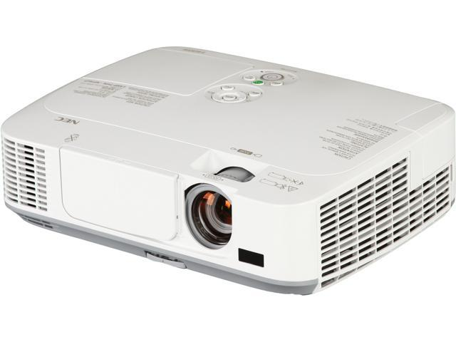 NEC NP-M311W WXGA 1280x800 Eco-Friendly HDMI USB Inputs DICOM Sim. Tech 3100 Lumens DLP Projector