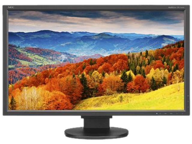 "NEC Display MultiSync EA273WMi-BK Black 27"" Widescreen AH-IPS Panel, LED Backlight LCD Monitor 6ms 250cd/m2, DisplayPort, USB hub, Height Adjust, ..."