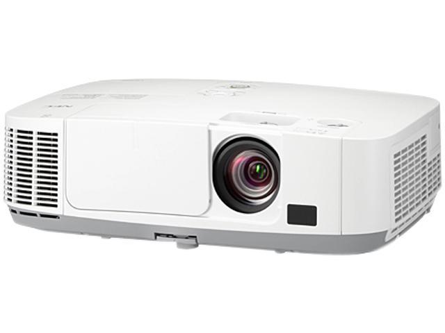 NEC NP-P501X 1024x768 XGA 5000 ANSI Lumens, Dual HDMI Inputs, 16W Speakers, Auto Keystone Correction, Built-in Wall Color Correction, 3 Year ...