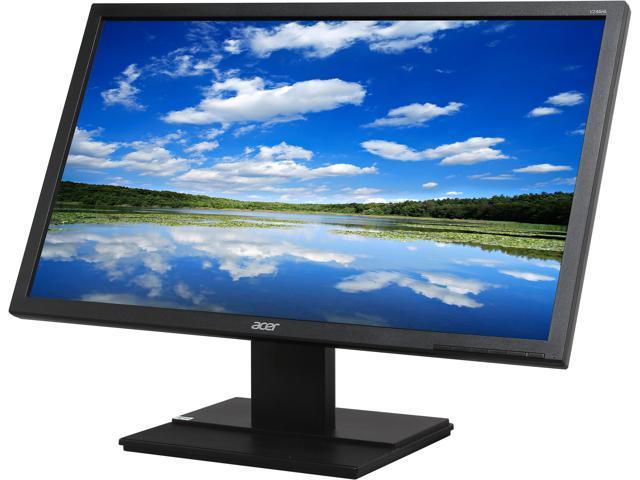 Acer V246HLbd Black 24