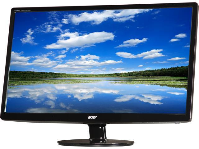 Acer S241HLbmid Black 24
