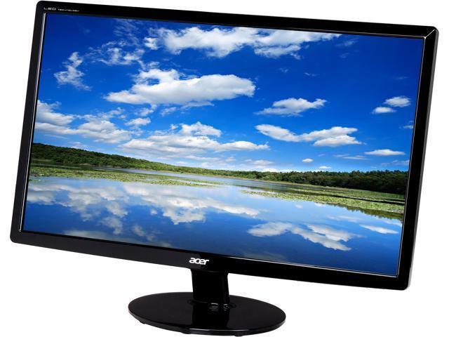 Acer UM.VS1AA.B01 S231HLBbid Black 23