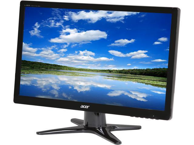 Acer G6 Series G206HQLbd Black 19.5