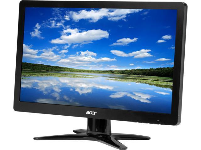 Acer G196HQLb Black 18.5