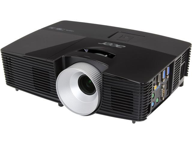 Acer P1283 1024x768 XGA 3000 ANSI Lumens HDM Inputs MHL capable, w/ Carrying Bag, 3D Ready DLP Projector