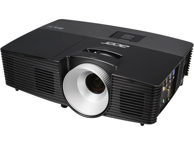 Acer P1383W 1280x800 WXGA 3100 ANSI Lumens, HDMI/MHL & USB Inputs, w/ Carrying Case, Optional Wireless, 3D Ready DLP Projector
