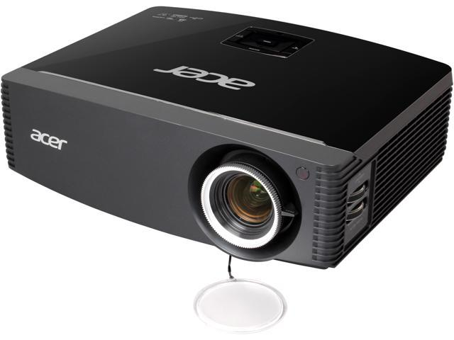 Acer P7505 1920x1080 FHD 5000 ANSI Lumens, HDMI & USB Inputs, w/ Carrying Case, 2xDigital Zoom, DLP Home Theater Projector