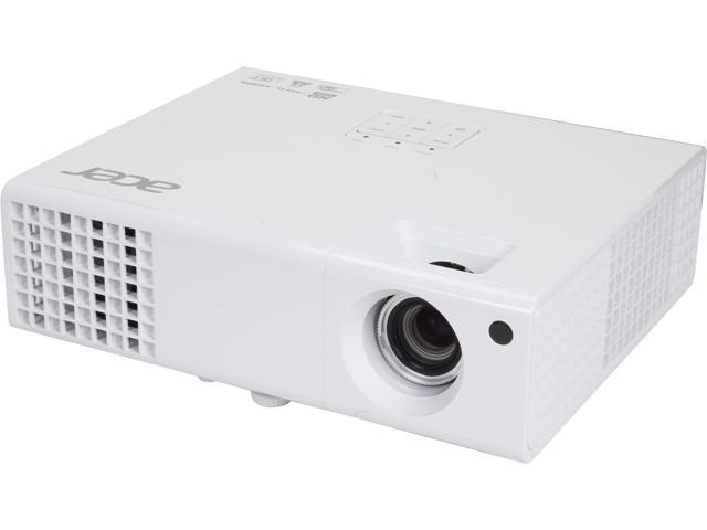 Acer X1373WH 1280x800 WXGA 3000 ANSI Lumens, 16:10 Aspect Ratio, HDMI/MHL Input, Auto Keystone Correction, 3D Ready DLP Projector