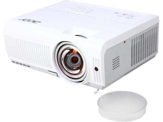 Acer S1213Hne 1024x768 XGA 3000 ANSI Lumens, RJ-45 (LAN Control/Display), HDMI/MHL, Dual VGA Inputs, Optional Interactive SmartPen, Short Throw ...