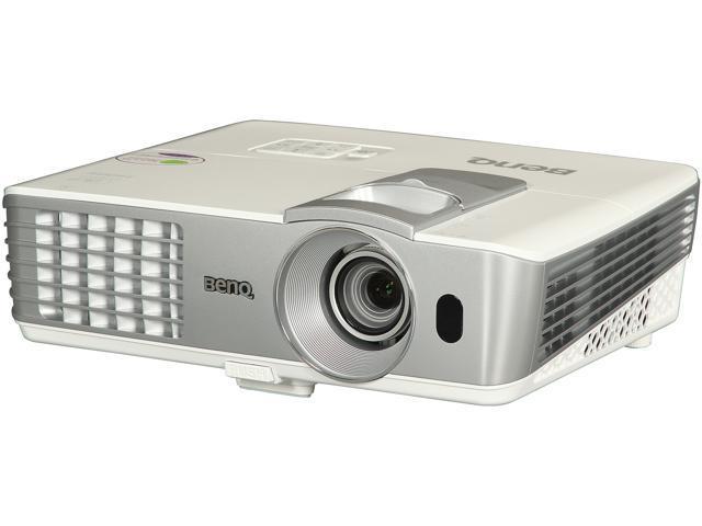 BenQ W1070 2000 lumens 1080P Full HD 3D Home Theater DLP Projector 2 x HDMI