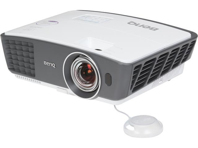 BenQ W770ST WXGA 1280x720, 2500 ANSI Lumens, Short Throw Distance, 2 HDMI Inputs, w/ Carrying Bag, 3D DLP Projector