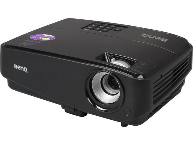 BenQ MS521 800 x 600 SVGA 3000 ANSI Lumens HDMI Input, Smart Eco Mode, 3D Ready DLP Projector