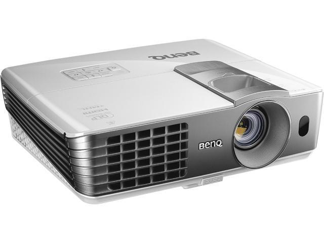 BenQ HT1075 1920x1080 FHD 2200 ANSI Lumens, Dual HDMI / MHL Inputs, Optional Wireless FHD Kit, 2D Keystone Correction, Built-In Speakers, 3D ...