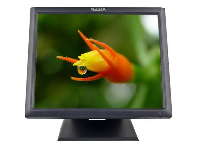 Planar 997-5969-00 PT1745R-BK 17-inch 5-Wire Resistive POS Touch Screen Monitor