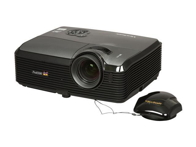 ViewSonic PRO8300 1920x1080 FHD 3000 ANSI Lumens, Dual HDMI Dual VGA Inputs, Brilliant Color Tech, Vertical Keystone, DLP Projector
