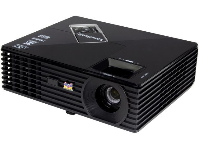 ViewSonic PJD5134 800x600 SVGA 3000 ANSI Lumens, HDMI Input, 120 Hz Refresh Rate, Keystone Correction, PC-3D ready DLP Projector
