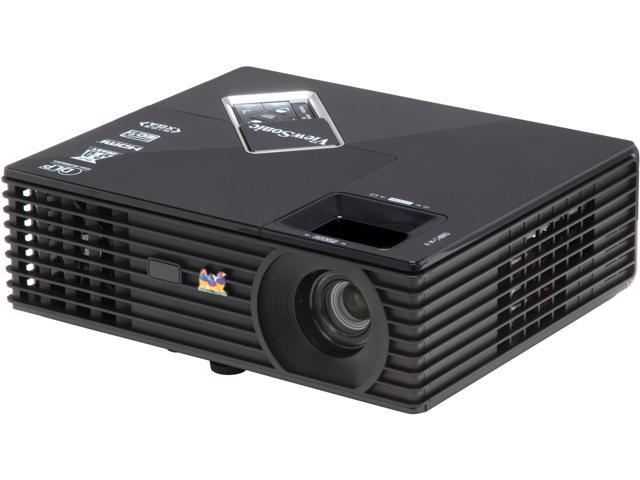 ViewSonic PJD5533W 1280x800 WXGA, 3000 ANSI Lumens, 120Hz Refresh Rate, HDMI & Dual VGA Inputs, 3 Year Warranty, Portable 3D Ready DLP Projector