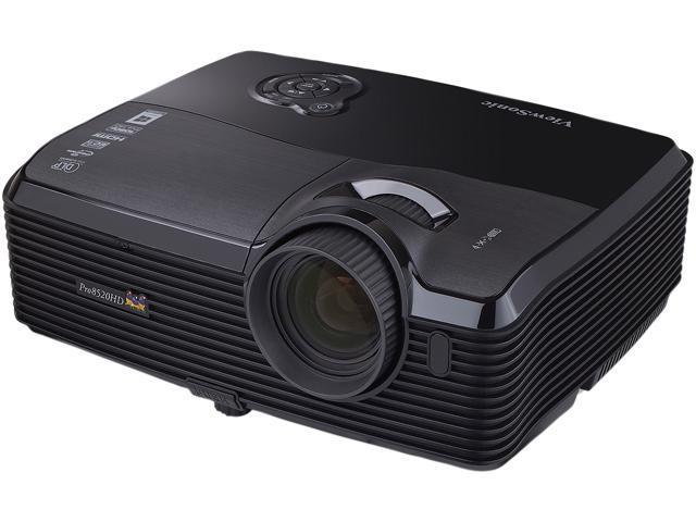 ViewSonic PRO8520HD 1920 x 1080 5000 lumens DLP 3D Projector 8000:1 RJ45