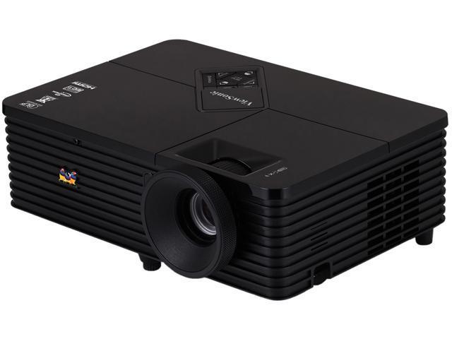 ViewSonic PJD6345 1024 x 768 3500 ANSI lumens DLP Projector 15,000:1 RJ45