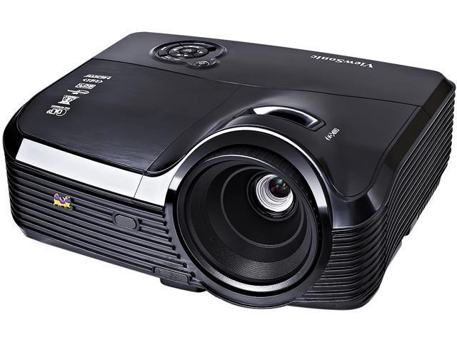ViewSonic PJD7333 1024 x 768 4000 ANSI lumens DLP Projector 15,000:1 RJ45