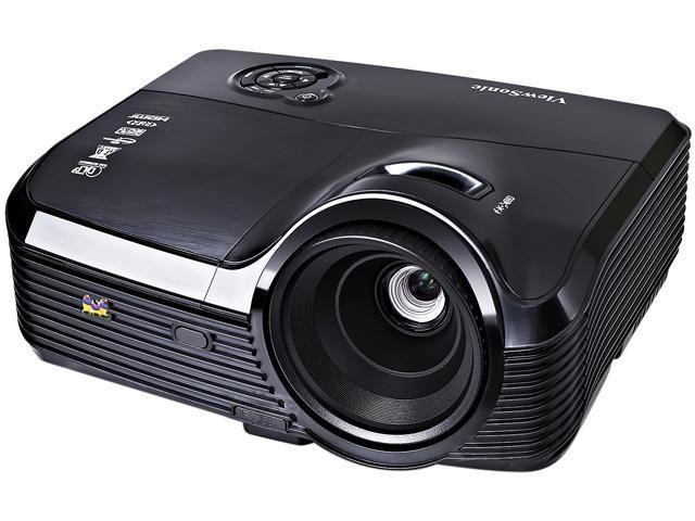 ViewSonic PJD7533W 1280 x 800 4000 ANSI lumens DLP Projector 15,000:1 RJ45