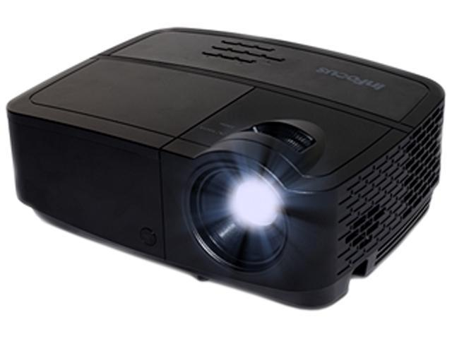 InFocus IN118HDa 1920x1080 FHD 3000 ANSI Lumens, HDMI 1.4 / Dual VGA Inputs, Built-in Speaker, Audio Pass-through, 3D Ready DLP Projector